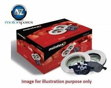 FOR VOLVO XC60 2.0DT 2010-  MINTEX FRONT BRAKE DISCS SET AND DISC PADS KIT