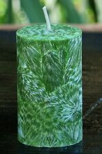 200hr TEA TREE, ORANGES & LIMES Natural Candle INSECT REPEL & HOME DEODORISING