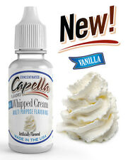 Capella Flavoring Vanilla Whipped Cream Flavor Concentrate 13ml water vape soda