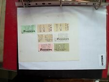 M2240 France. 6 Transcar, LCN Bus/Tram Ticket/s. **