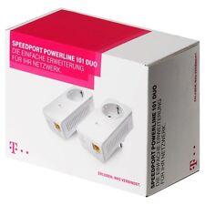Telekom Speedport Powerline 101 DUO 500 MBits/s T-Home Powerlan dlan