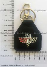 Chevrolet Chev 350 Flag Leather Keyring