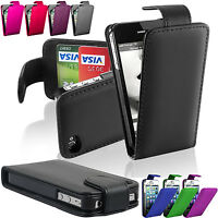 New Top Flip Wallet Magnetic Book PU Leather Case Cover For Apple iPhone 4 & 5