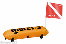 Mares Tech Torpedo Buoy Diver Down Flag Float Marker Scuba Diving