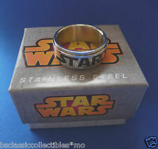 Star Wars Logo Spinner Ring  Men's Size 11 - Star Wars Jewelry - New In Box!!