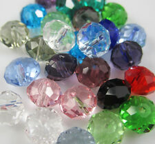 NEW Jewelry Faceted 100 pcs MIX color #5040 3x4mm Roundelle Crystal Beads DIY A2