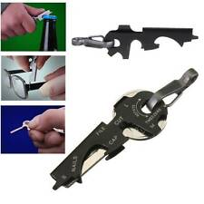 Multi Tool Key Clip Hook Keychain Portable Camping Hiking Hardware Carabiners