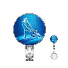 Disney Cinderella Slipper Nurses Fob Watch [76605172]