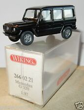 MICRO WIKING HO 1/87 MERCEDES BENZ G 320 NOIR in BOX