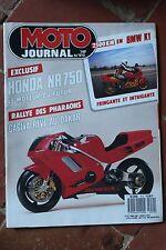 MOTO JOURNAL N°912 BMW K1 HONDA NR 750 PACIFIC COAST JAPAUTO JOHN SURTEES 1989
