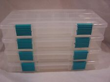 Plano Molding set 4 Prolatch Fishing tackle storage boxes Small 3500 Craft Beads
