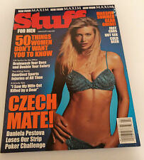 Stuff Magazine Issue 2 Daniela Pestova Charisma Carpenter