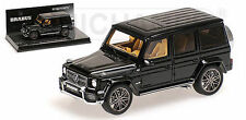 Minichamps 2012 MERCEDES BENZ G V12 800 BRABUS BLACK RESIN 1:43 New Item!