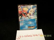 Pokemon Black and White Legandary Treasures KELDEO EX 45/113 Foil Holo SP Rare