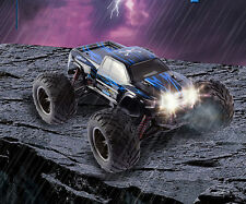 35+MPH 1/12 Scale RC Car 2.4Ghz 2WD High Speed Remote Controlled TRAC Bule