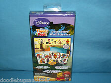 DISNEY Pooh Tigger Piglet Eeyore Darby Buster 44 Decorative Wall Sticker Set NEW