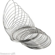 1000 Loops Memory Beading Wire for Bracelet 65mm-70mm Dia.