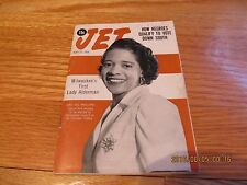 JET MAGAZINE MAY 17 1956 MILWAUKEE'S 1ST LADY ALDERMAN/ NEGROES VOTE DOWN SOUTH