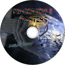 FINGERSTYLE ACOUSTIC GUITAR TABS TABLATURE SOFTWARE CD BEST OF GREATEST HITS