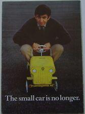 Ford escort mk 1 de luxe super gt 1968 original uk sales brochure pub. 291863
