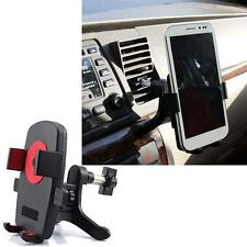 360°Universal Car Air Vent Mount Cradle Holder Stand for Smart Cell Phone GPS GD