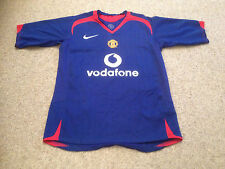 Manchester United Football Shirt Youths 12 To 13 Years Away  Shirt 2005 - 06 (P)