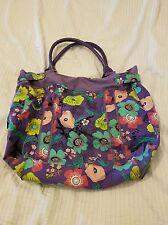 Atmosphere Purple Floral Print Bag