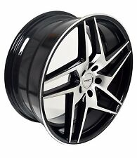 4 GWG Wheels 20 inch Black RAZOR Rims fits 5x114.3 FORD ESCAPE 4WD 6CYL. 2001-12