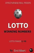 LOTTO WINNING NUMBERS France Lotto 5/49 by Emil Albert (2015, Paperback)