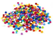 50 x Mini Small Colorful Sewing Buttons Scrap booking Card Making Arts & Craft