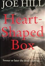 Heart Shaped Box by Joe Hill  Hard CoverBack Book True First 1st Edition VF King