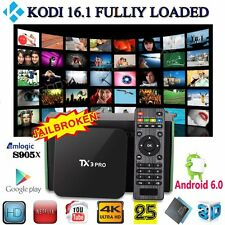 XGODY 4K Android 6.0 TV BOX TX3PRO S905X KODI 16.1 FULLY LOADED Quad core 4K HD