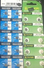 60  Watch Batteries 30  AG4  377  LR626 SR626SW 177 626  30 AG1 621 364 EX2020