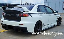 2008 TO 2015 MITSUBISHI EVOLUTION X GSR CUSTOM VORTEX GENERATOR ROOF DIFFUSER