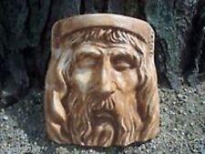 Gostatue mould plaster concrete Jesus face plastic garden mold