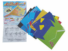JAPANESE Airplane Hawk Fighter Bird Origami 24 Sheets 15cm 6 Different Models