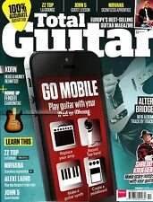 TOTAL GUITAR #246 11/2013+CD Go Mobile ZZ TOP Alter Bridge JOHN 5 Nirvana @NEW
