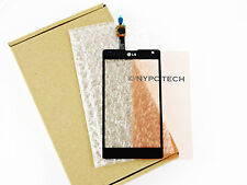 NEW Black Touch Screen Digitizer Glass Lens For LG Optimus G LTE E970 + Adhesive
