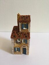 MINIATURE J CARLTON GAULT COLLECTIBLE FRENCH PROVENCE HOUSE VILLAGE  BUILDING