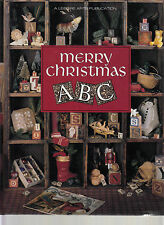 LEISURE ARTS MERRY CHRISTMAS ABC CROSS STITCH ~ CHRISTMAS REMEMBERED BOOK 6