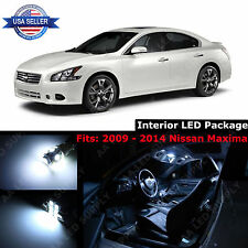 17x White LED Light Interior Package Deal Kit Dome For 2009 - 2014 Nissan Maxima