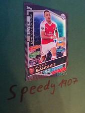 Topps Champions League 2016 17 limited Edition Sanchez Silber 16 limitiert 2017