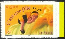 France 2004 Greetings Stamps/Bee/Children/Insects/Bees 1v s/a ex bklt (n44432)