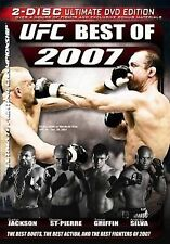 Ufc: The Best of 2007  DVD