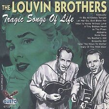 "THE LOUVIN BROTHERS, CD ""TRAGIC SONGS OF LIFE"" NEW SEALED"
