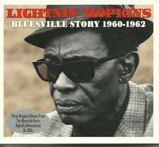 LIGHTNIN' HOPKINS BLUESVILLE STORY 1960 - 1962 - 3 CD BOX SET