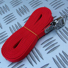 FIAMMA 2M RED SECURITY STRAP for BIKES CARRIERS etc MOTORHOME CARAVAN BOAT