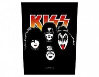 KISS faces 2011 GIANT BACK PATCH - 36 x 29 cms gene simmons paul stanley