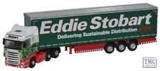 NSCA001 Oxford Diecast Scania Topline Curtainside - Stobart 1/148 Scale N Gauge