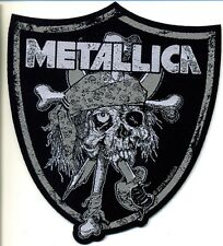 Metallica Raiders Skull  Aufnäher/ Patch  602386 #